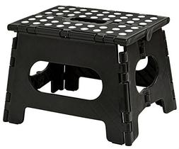 Folding Step Stool - The Lightweight Step Stool is Sturdy En