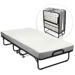 Milliard Diplomat Folding Bed – Twin Size - with Luxurious