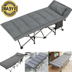 Folding Camping Bed Military 2-Layer Oxford Heavy Duty Sleep