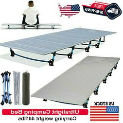 Folding Cot Collapsible Camping Bed with Carrying Bag Travel