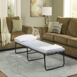 Simmons Folding Foldaway Extra Portable Guest Bed Cot with M