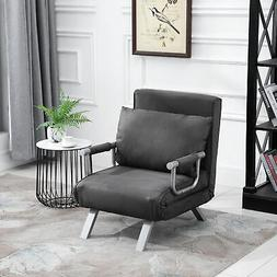 Folding Sleeper Flip Chair Convertible Sofa Bed Lounge Couch
