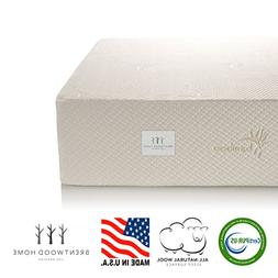 "Brentwood Home 13"" Gel Memory Foam Mattress"