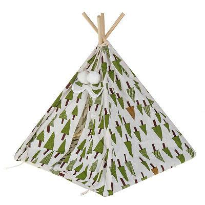 17'' Portable Folding Pet Tent Puppy Workout Teepee