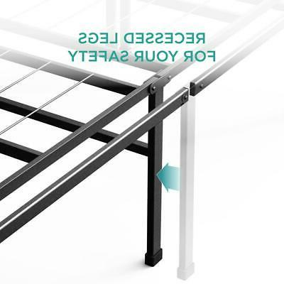 Zinus Bed Frame 18 in. High Easy Storage Support