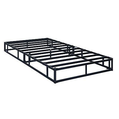 Box Steel Bed Folding Queen King Size