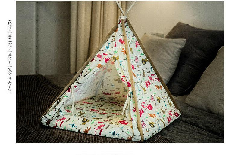 Canopy Bed Dog Small Animal with All Season