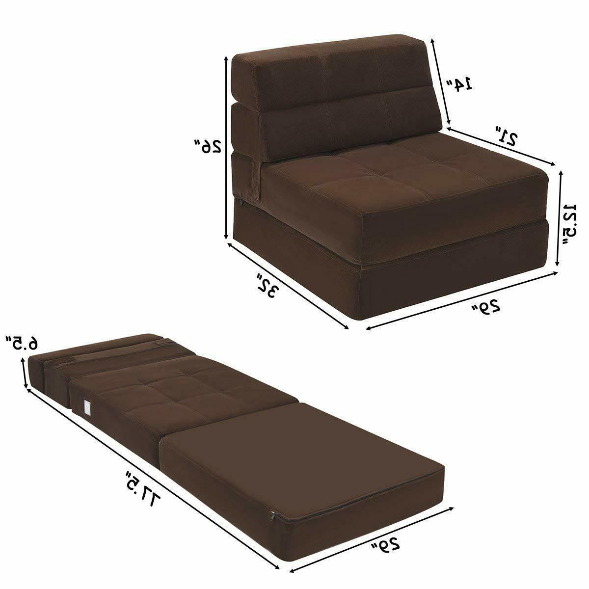 fold down sofa bed floor couch foam