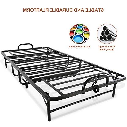 Smile Foldable Guest Bed Size Adults, Foam Bed for on No