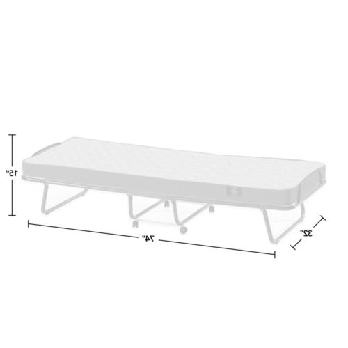 Folding Bed Away Portable Cot Pull
