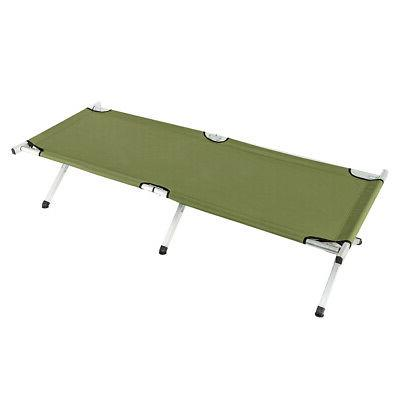 Folding Cot Bed with Travel Outdoor Home Patio