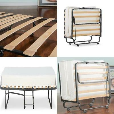 folding cot sized bed with memory foam