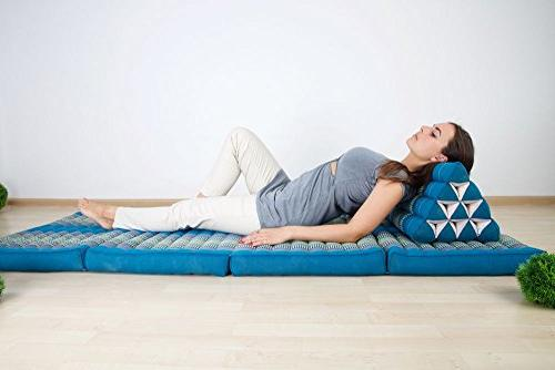 Folding inches 100% Kapok folding guest up bed, foldable cushion, relaxation