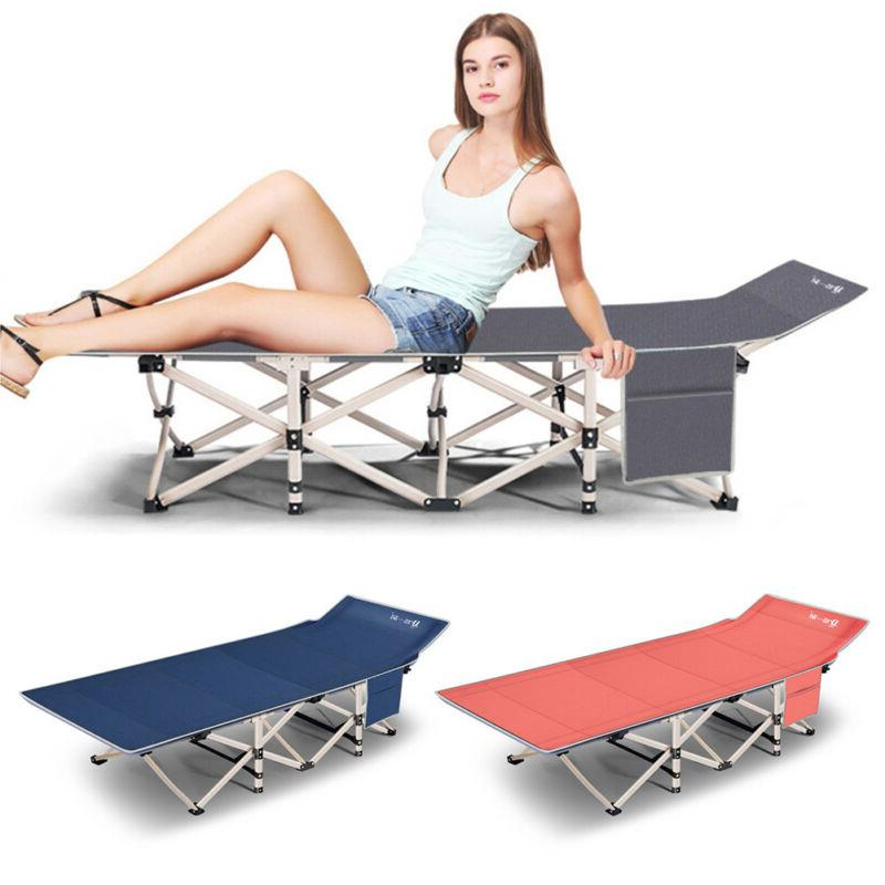 Single Size Folding Rollaway Guest Metal Bed With Mattress F