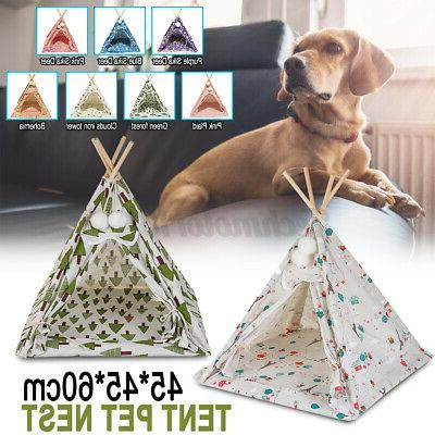 Portable Tent Foldable Cat Puppy House !1