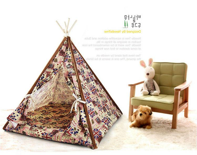 Removable Washable Indian Tent for Small