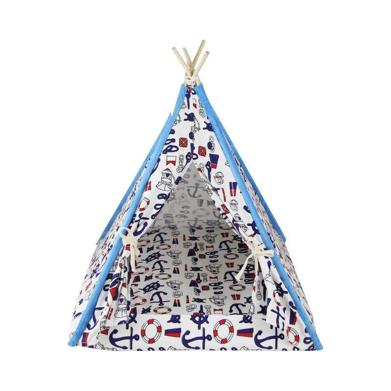 removable washable canopy teepee indian tent kennel