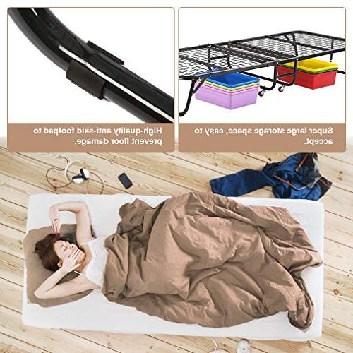 BestMassage Guest Folding Camping Roll with Super Strong Duty Frame