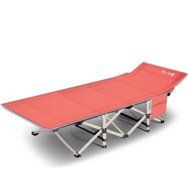 Portable Folding Rollaway Cot w/ Bag Strong Stable