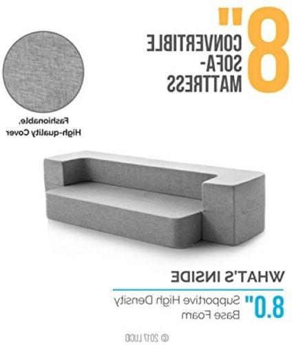 LUCID 8 Sofa Bed Extra Cot