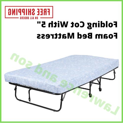 twin roll away folding bed