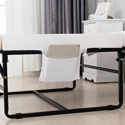 Mecor Metal Guest Bed with Bedroom