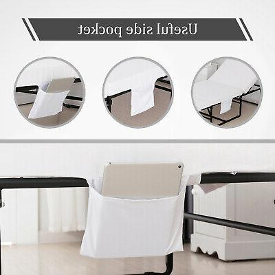 Mecor Twin Metal Bed Frame Rollaway Guest Bed Bedroom