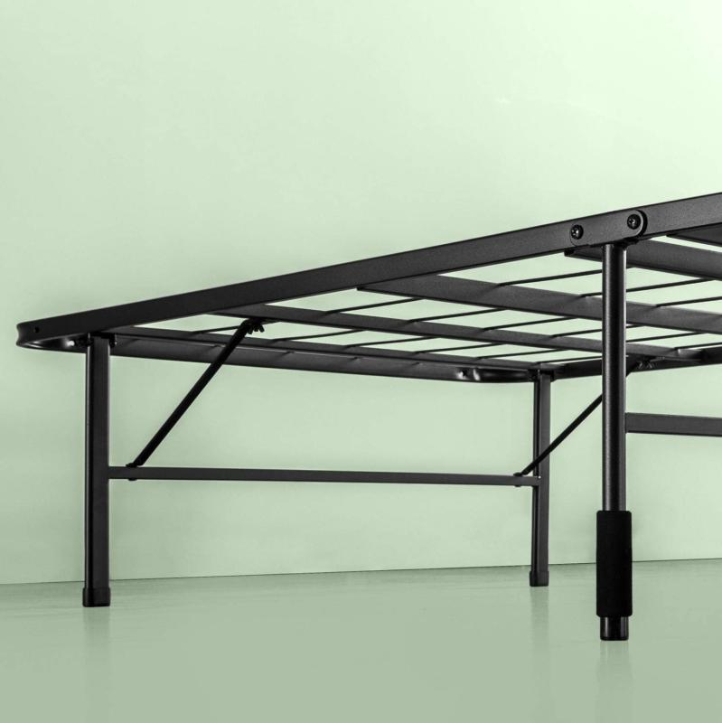 Twin Size Frame Foldable Platform Inches Black