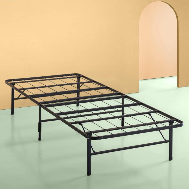 twin size steel bed frame foldable mattress