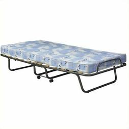 Linon Roma Single Folding Bed - White. Great for Out of town