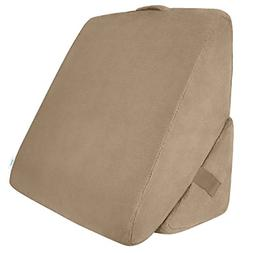 Xtra-Comfort Bed Wedge Pillow - Folding Memory Foam Incline