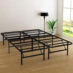 DUMEE 14 Inch Metal Platform Bed Frame Mattress Foundation F