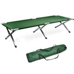 Portable Military Folding Bed Cot Sleeping Outdoor Camping H