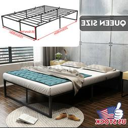 Queen Twin Size Metal Bed Frame Mattress Foundation Platform