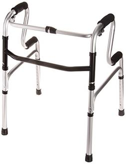 HealthSmart Toilet Safety Frame Sit-to-Stand Folding Walker,