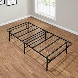 "Twin Steel Mattress Foundation Bed Frame 14"" High Profile Fo"